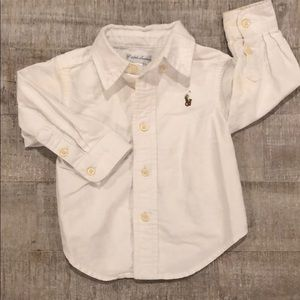 9 Month Polo Ralph Lauren Button Down Shirt